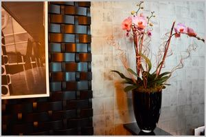 Orchids in the Marriott Lobby, 37th St. btw 5th and 6th