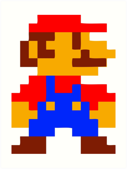Risultati Immagini Per Pixel Art Super Mario Pixel Art Mario Pixel