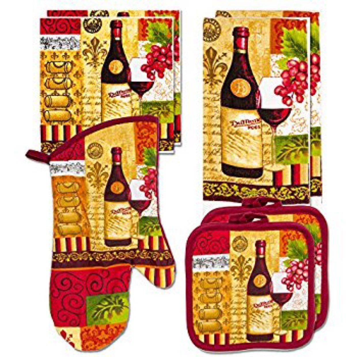 Wine Kitchen Bundle New - Mercari: Anyone can buy & sell