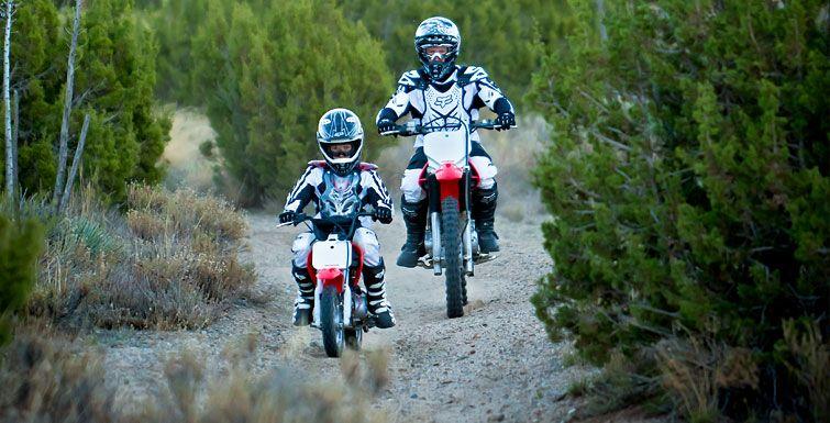 "2015 Honda CRF50F dirt bike for kids. ""The World's Best"