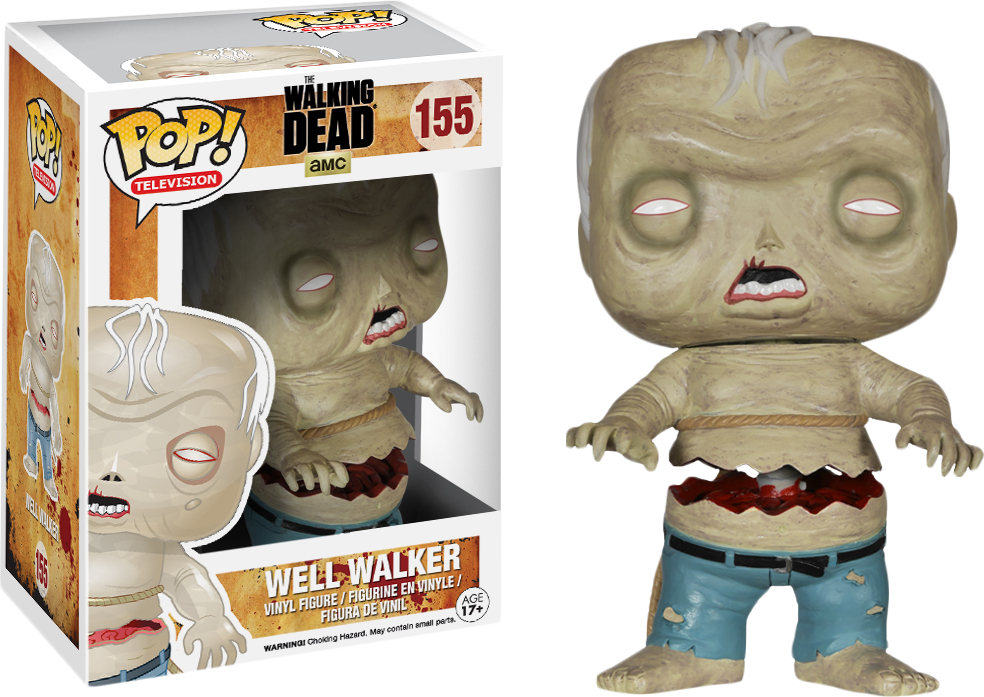 WELL WALKER GITD FUNKO MYSTERY MINIS WALKING DEAD AMC SERIES 1 VINYL FIGURE