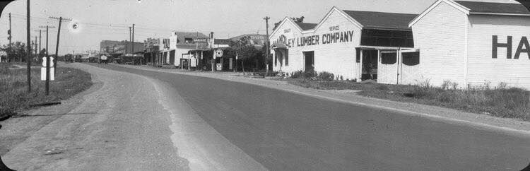 Handley Lumber Co Circa 1930 S On Hwy 80 And Across The Street