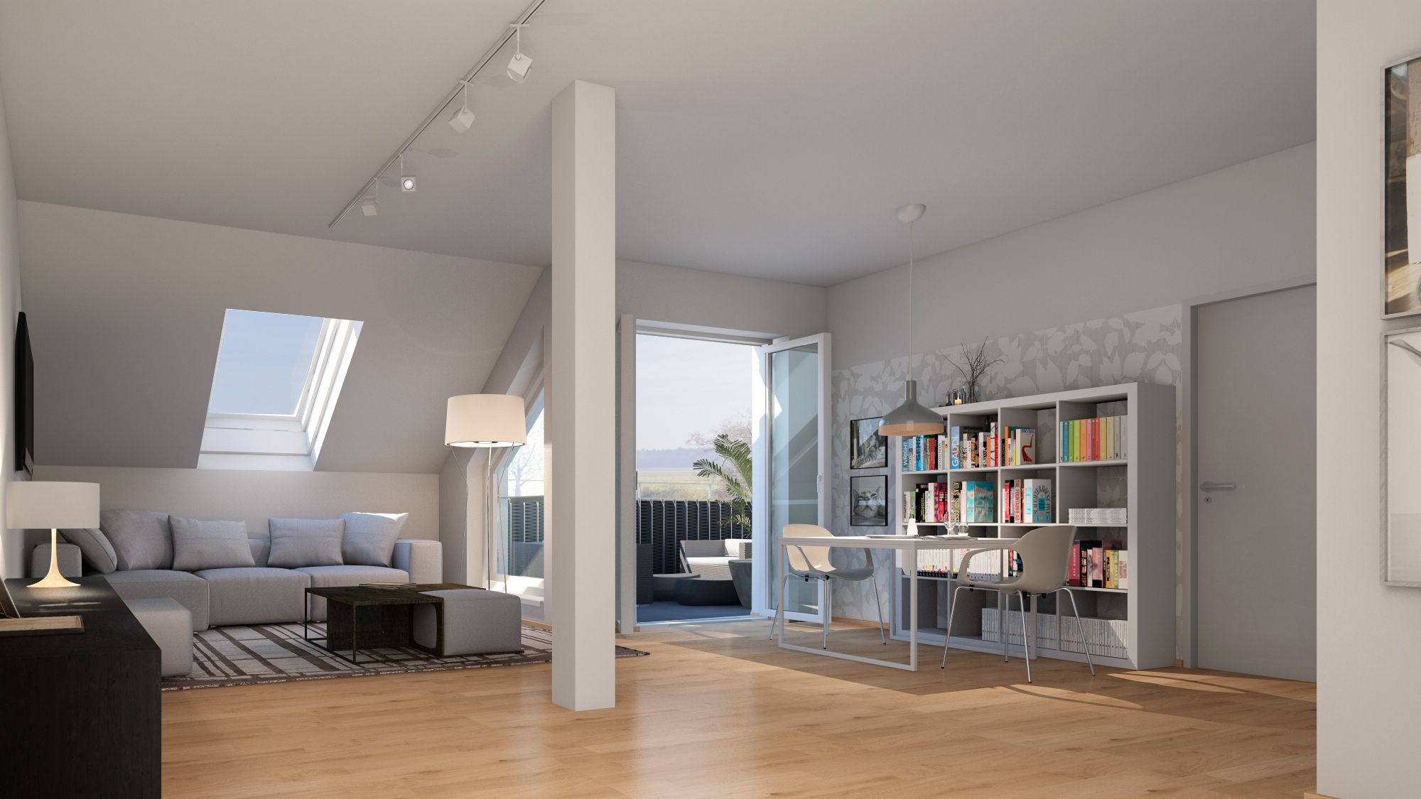 Helle und freundliche Eigentumswohnungen in Hallwang bei