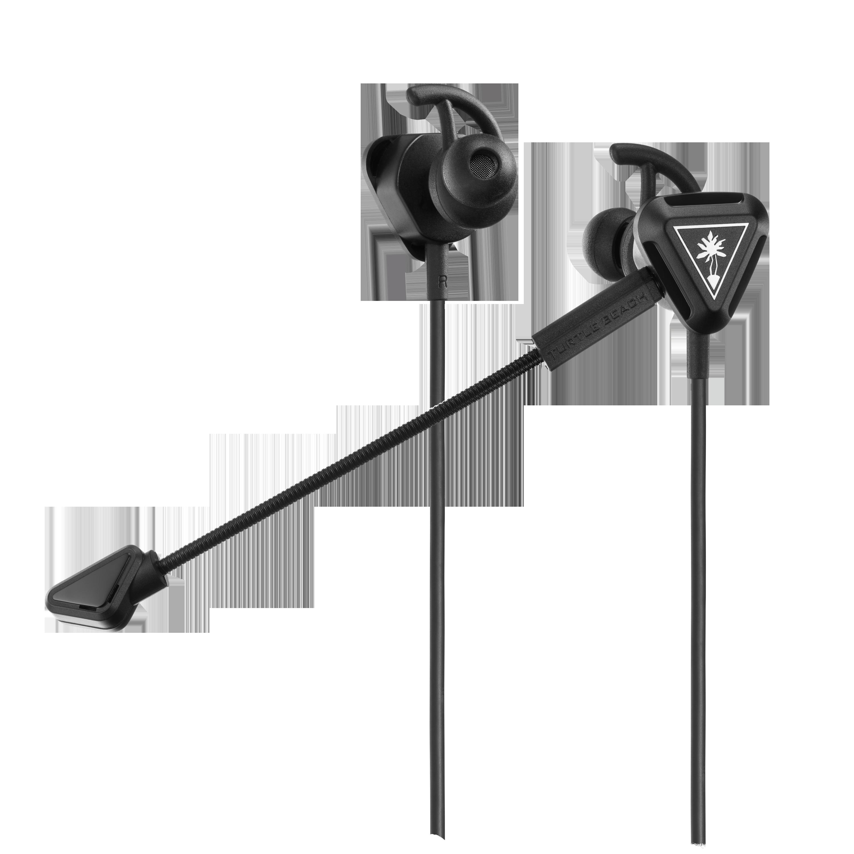 Battle Buds In Ear Gaming Headset Black Silver Gaming Headset Turtle Beach Headset