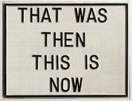 """#Pin """"That was then... This is now."""" Great powerful message of #change!"""