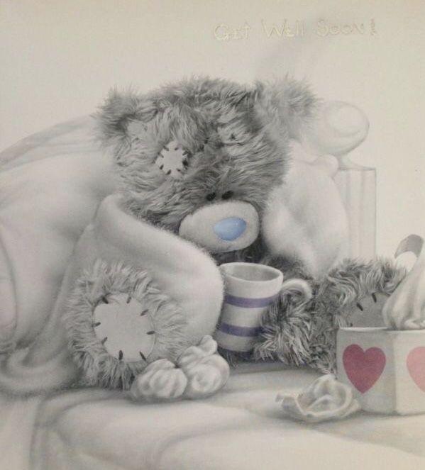 Картинки с мишками выздоравливай