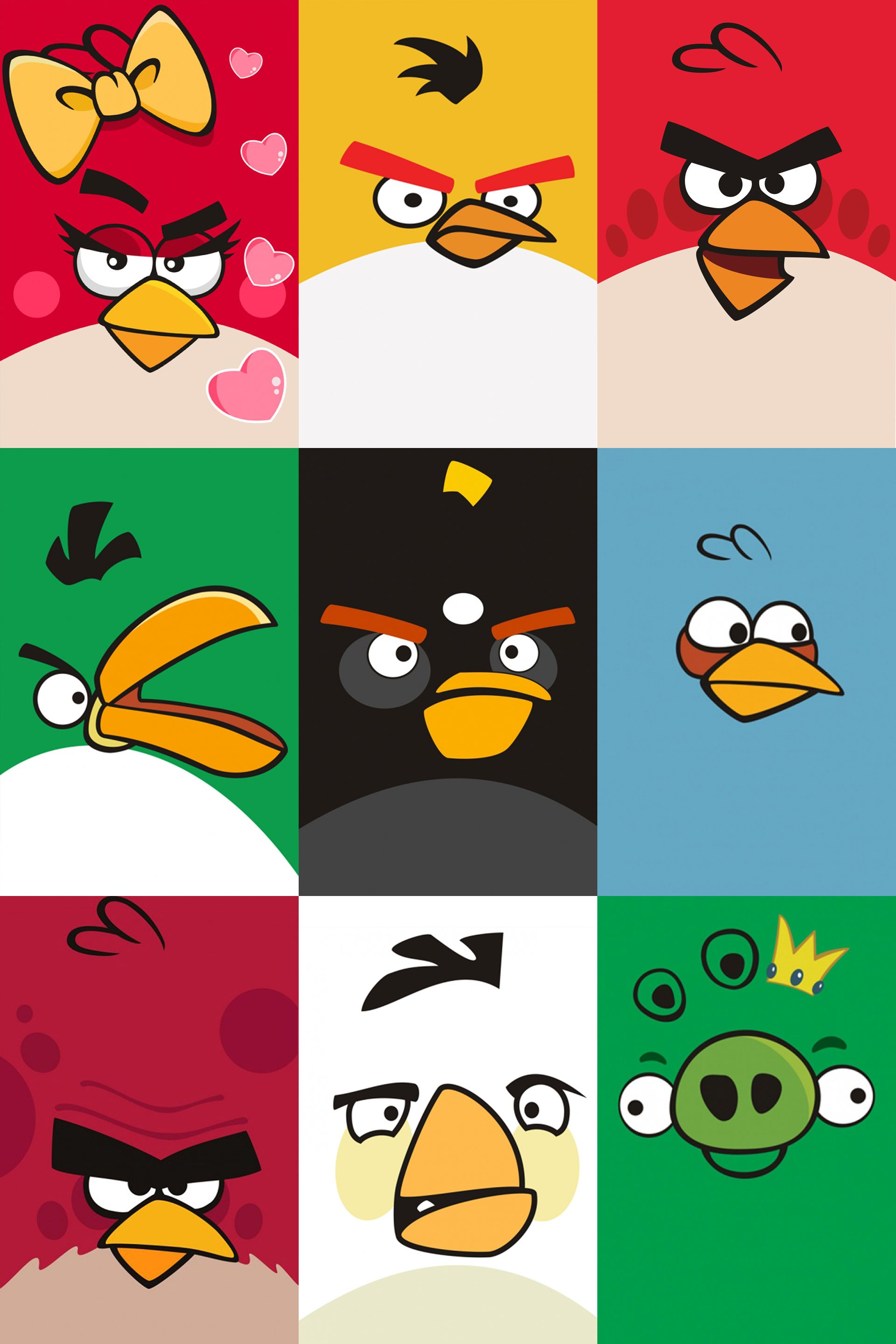 Angry bird | Things I make | Pinterest | Stickers infantiles, Cumple ...
