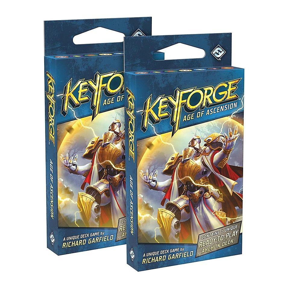 Keyforge Age Of Ascension 2 Player Starter Card Game Set Bed Bath Beyond Set Card Game Card Games Player Card