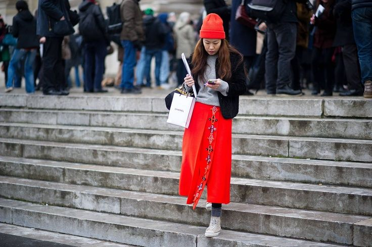 Street Style: The Opulent Clothes at Couture - Total Street Style Looks And Fashion Outfit Ideas