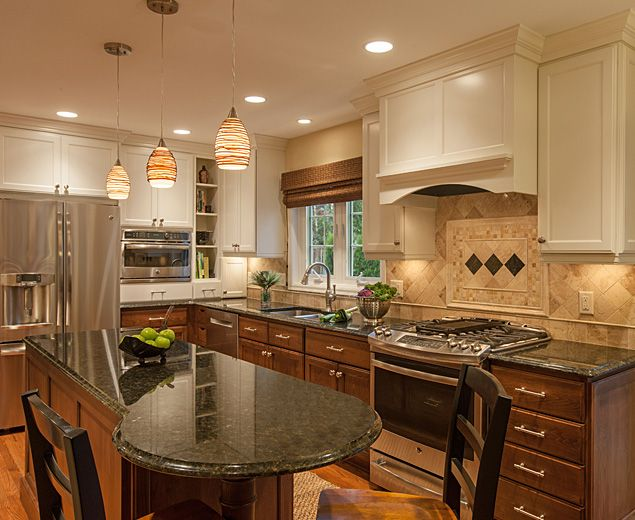 traditional kitchen remodel, Plymouth MN. | CK+B kitchen designs ...