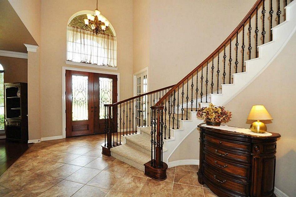 Decorations Accessories Semi Spiral Stair Design With Dark | Semi Spiral Staircase Design | Handrail | Inside | Semi Circular | Elegant | Residential Library