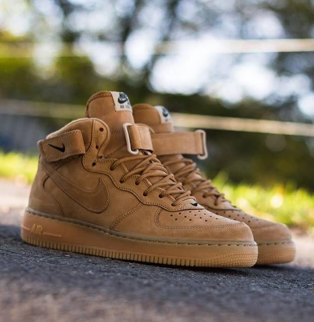 Nike Air Force 1 Hi Quickstrike: Wheat | Nike free shoes