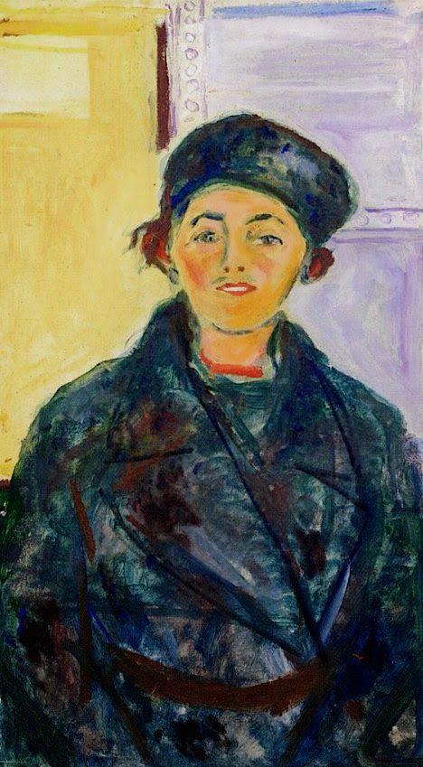 Edvard Munch - Ebba Ridderstad, 1935