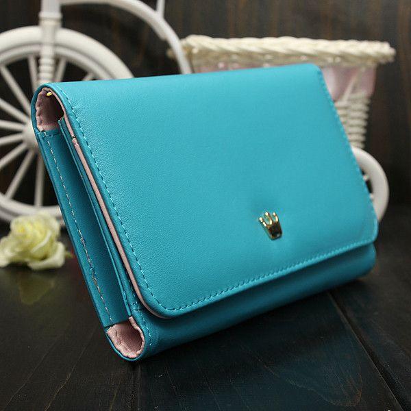 Premium-Crown-Wristlet-Leather-Wallet-Case-Cover-For-iPhone-6-Plus-6S-Plus-5-5