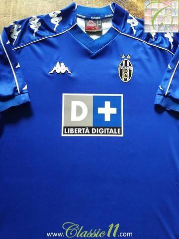 designer fashion 73790 bbaf6 Relive Juventus' 1999/2000 season with this original Kappa ...