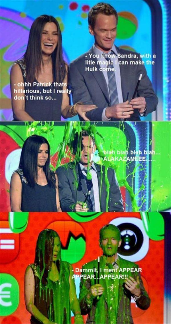 Neil Patrick Harris and Sandra Bullock - SunnyLOL