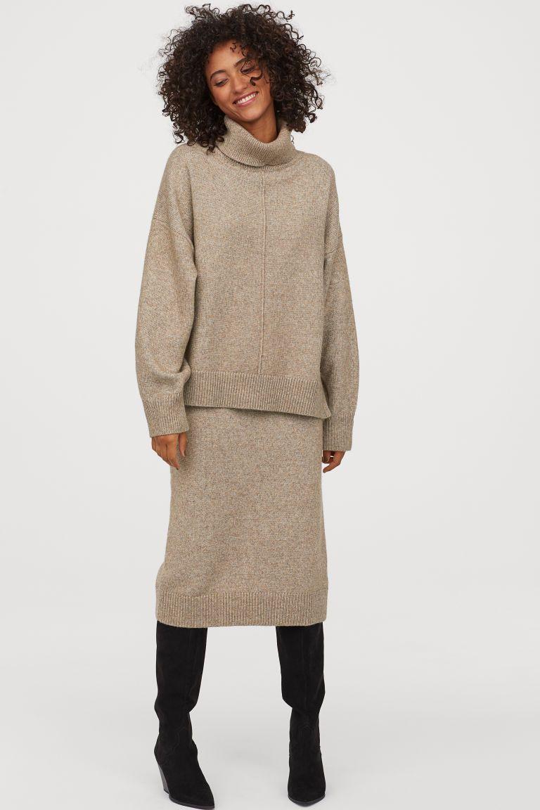 Stickad kjol | Kjol, Personlig stil och Mode