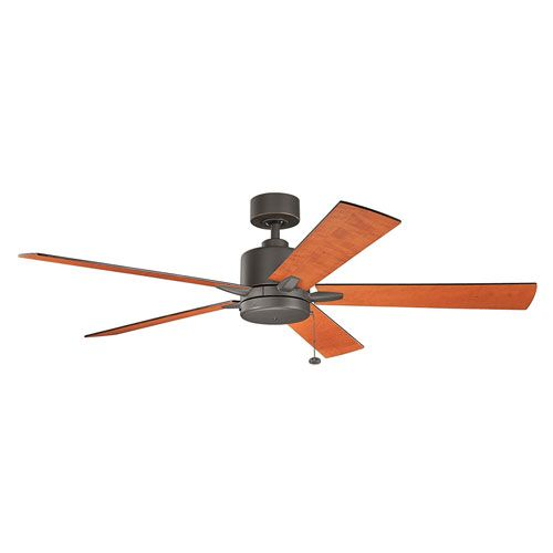 Bowen Olde Bronze 60 Inch Ceiling Fan Kichler Stem Mounted Fan Ceiling Fans Fans