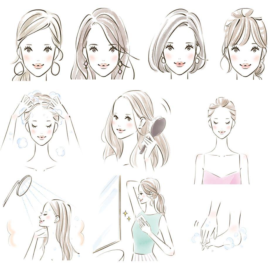 大人 の 女性 描き 方