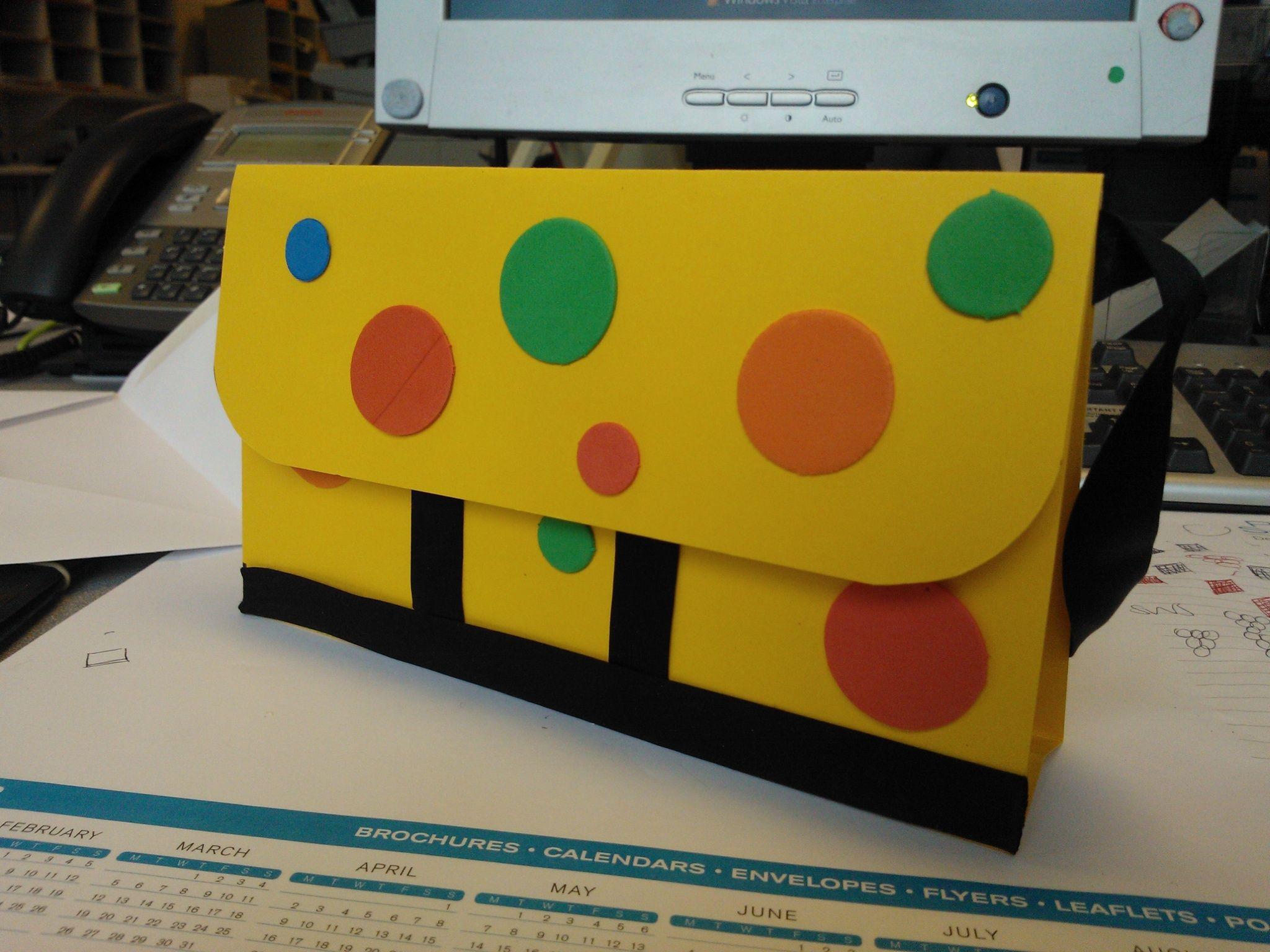 Mr Tumble S Spotty Bag Handmade Birthday Card Handmade Birthday Cards Birthday Cards Inspirational Cards