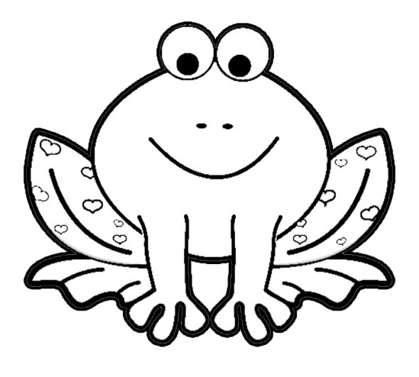 Frog template | Digi stamps | Pinterest | Frog template, Frogs and ...
