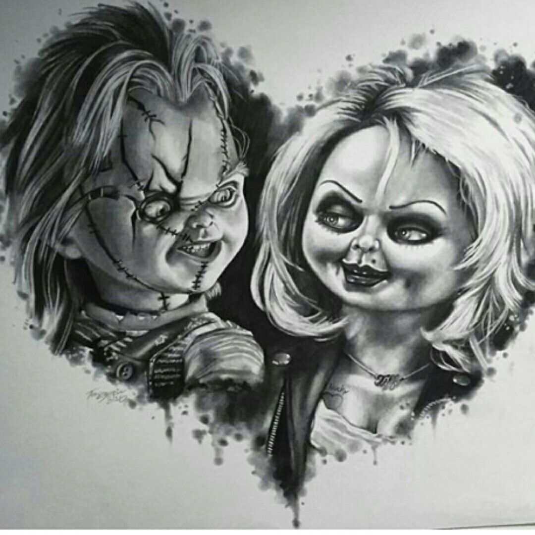 Realistic Coloring Of Chucky: Pin By Robert Amaya On Pyrography