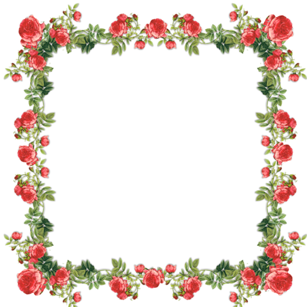Frames Floral Em Png: Pin By Linda Christensen On Borders, Floral