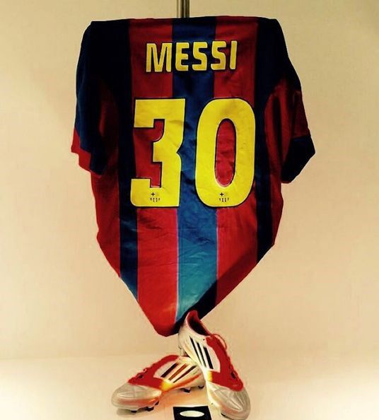 newest f0bc7 5ae8b Lionel Messi celebrated 30 million Instagram followers with ...