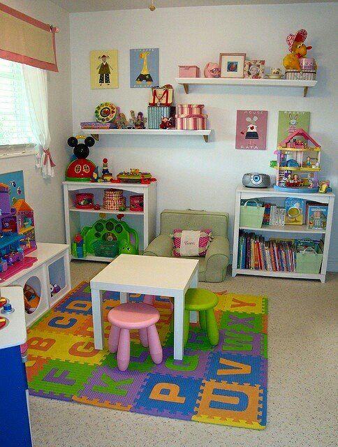 Como organizar juguetes | Ideas para organizar cuarto de juegos ...