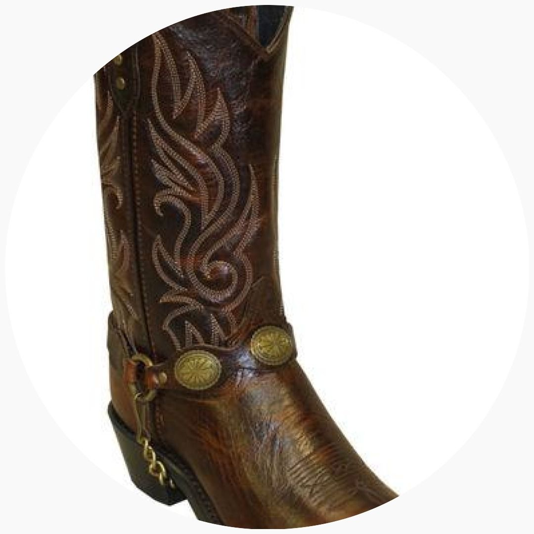 Abilene Mens Sage by Boot Scorpion Harness 3032