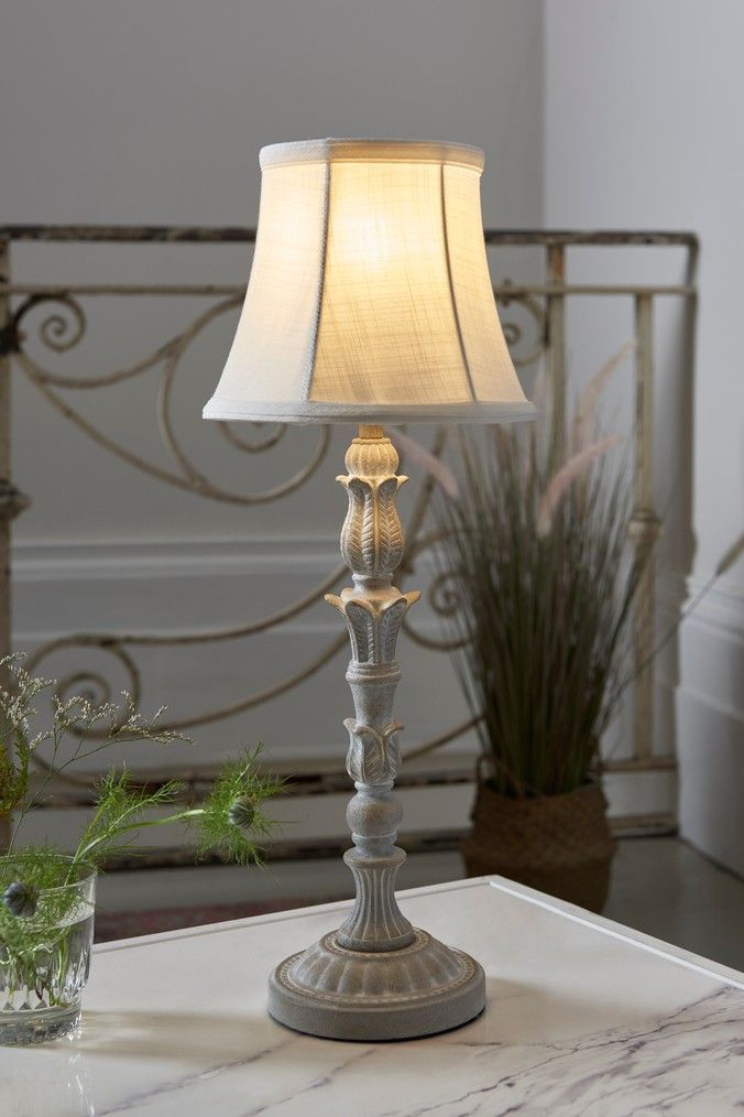Next Celine Table Lamp Grey Table Lamp Grey Table Lamps Lamp