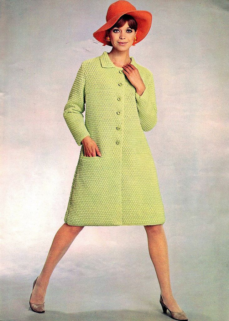 vintage everyday: Colourful Knitting Sweaters in 1967