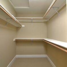 Closet Ideas For Small Walk In Closets | Small Walk In Closet Design 5u0027