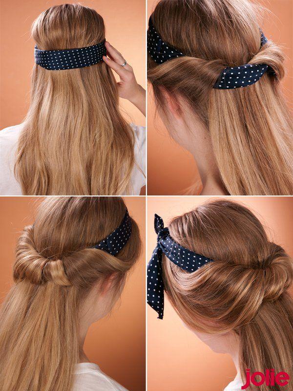 50s frisuren strawberry retro nickituch hairband haar tuch bandana die besten 20 haarfrisuren. Black Bedroom Furniture Sets. Home Design Ideas