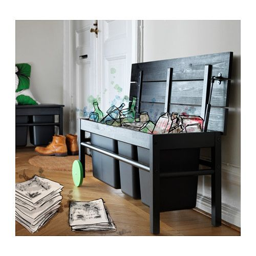 ANVÄNDBAR Benk for avfallssortering  - IKEA