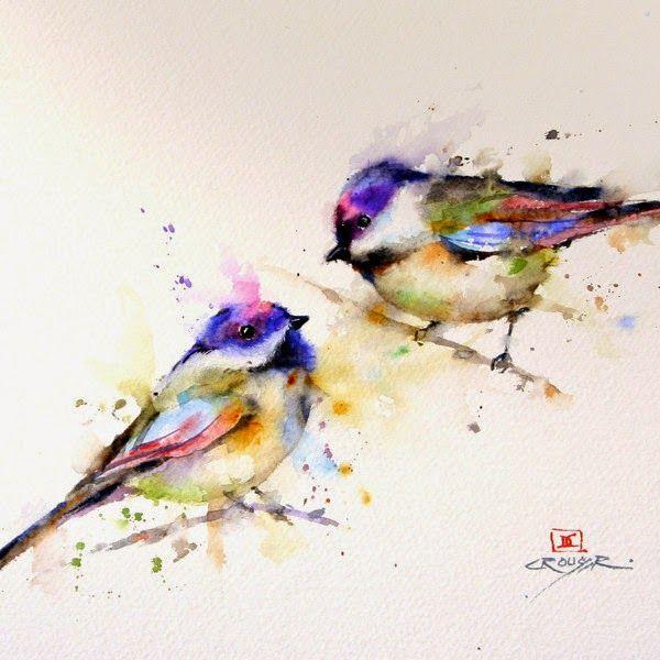 Art Et Glam Dean Crouser Ses Peintures D Animaux A L Aquarelle