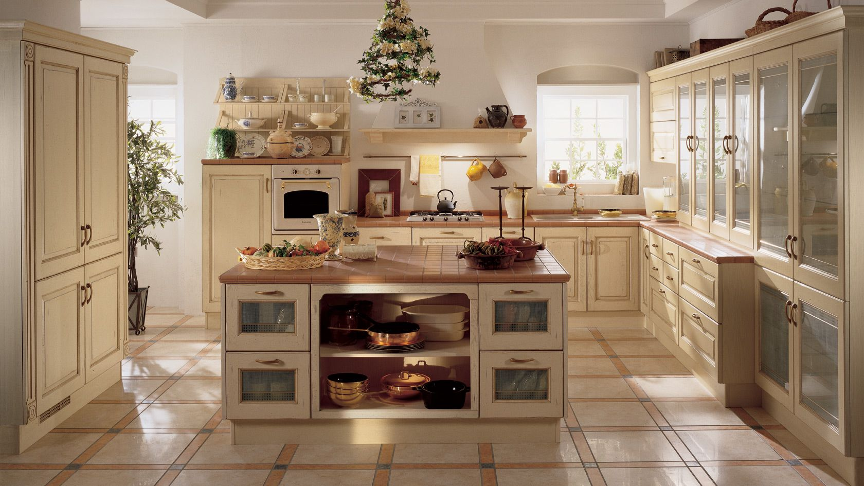 Cucina Belvedere Scavolini | Kitchen | Country kitchen ...