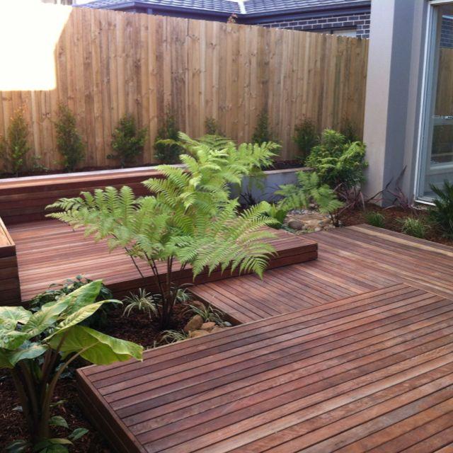 Pin By Irnes Kozic On Landscape Ideas Floating Deck Plans Floating Deck Backyard