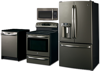 Appliances  SLATE finish  GE  Its not black not white and not stainless a NEW appliance