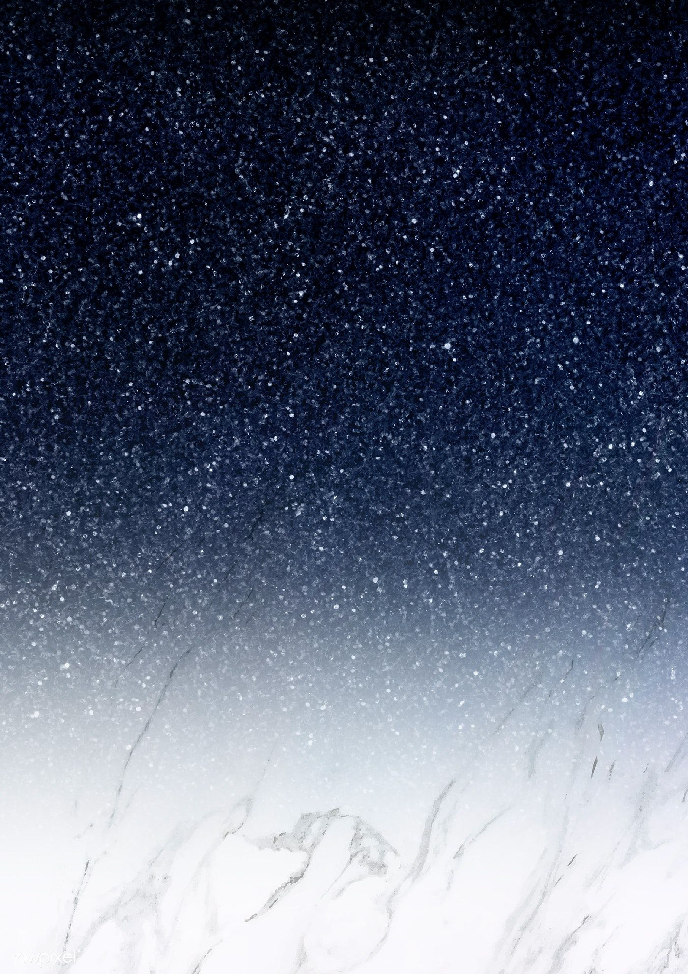 Download premium illustration of Dark blue ombre glitter
