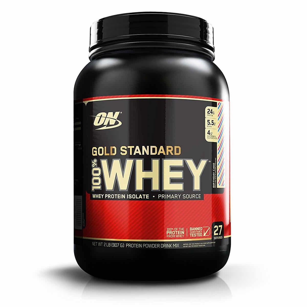 Optimum Nutrition Gold Standard 100 Whey Protein Powder 2 Lbs Gold Standard Whey Gold Standard Whey Protein Best Whey Protein