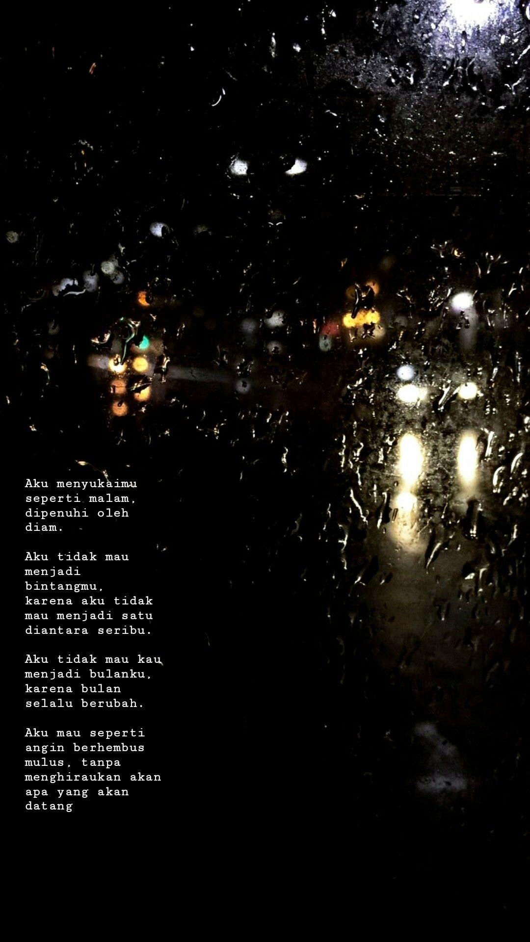 bagaikan hembusan angin quotes poem hujan kutipan jatuh cinta