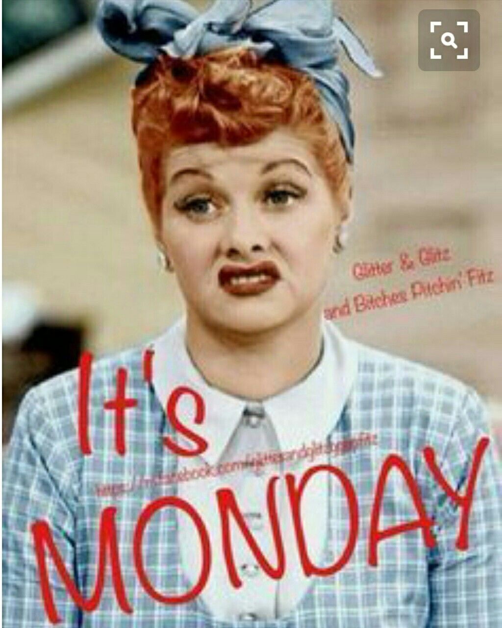 I Love Lucy Monday Meme With The Funny Face You Know Lucy Strikes When She S Did Pleased Mondaymotivatio Monday Humor Monday Pictures Good Morning Handsome