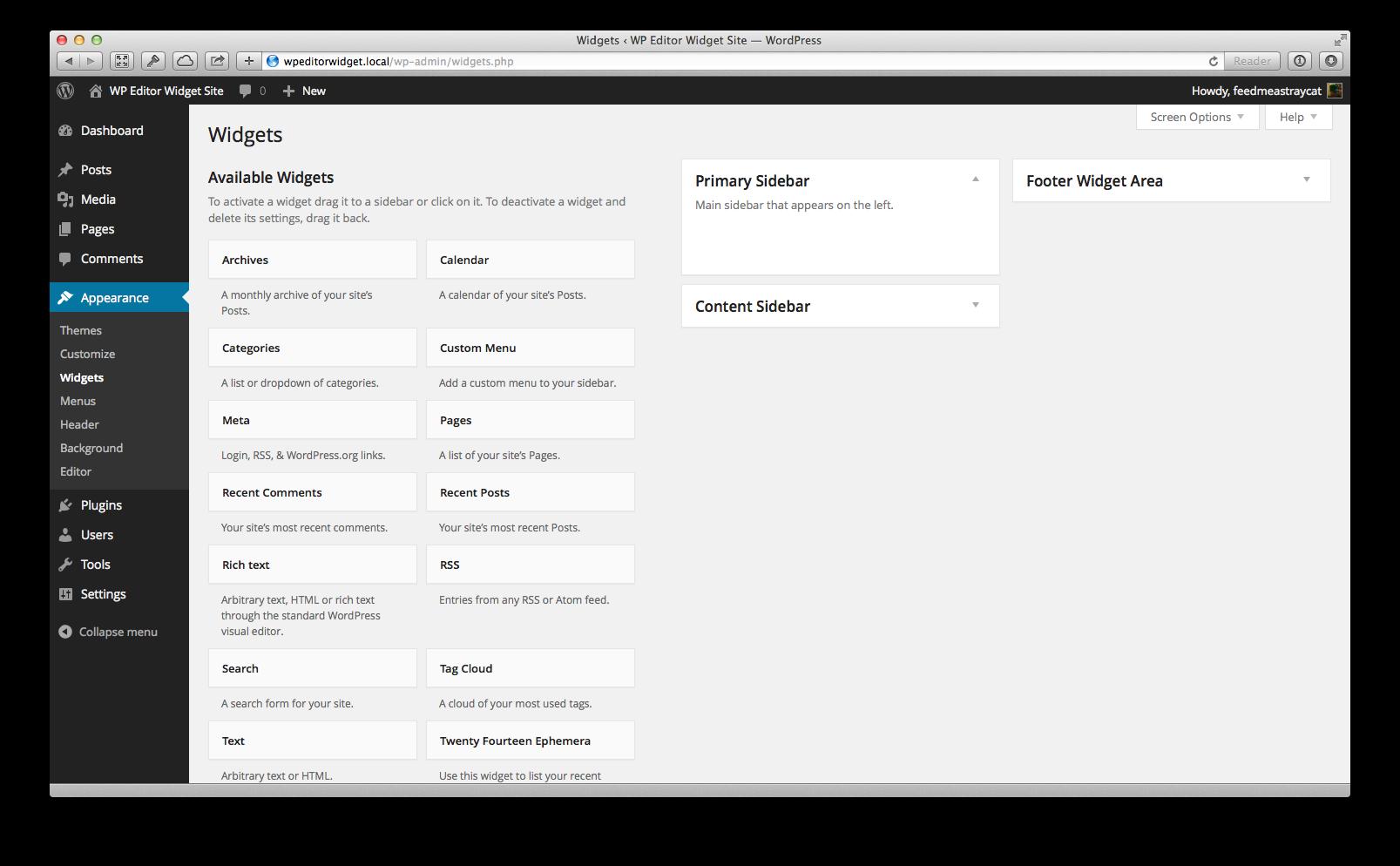 WP Editor Widget | tech | Wordpress admin, Wordpress plugins
