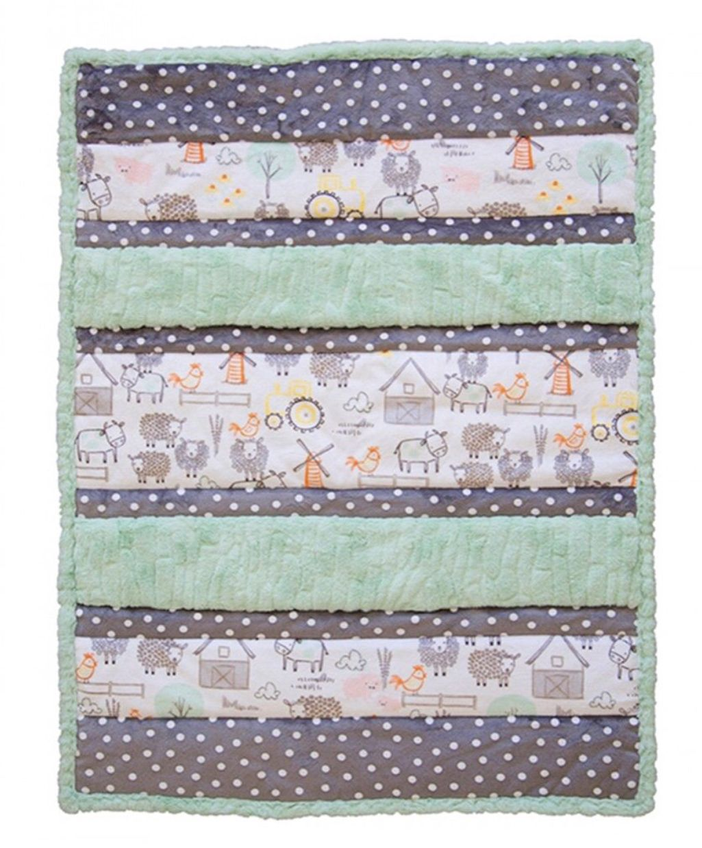 44 99 Bambino Cuddle Kit Hay There Shannon Fabrics Minky Fabric Complete Kit Includes Minky Fabric For Top Backing Bindin Quilts Minky Fabric Quilt Kits