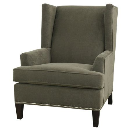 I pinned this Bucks Wingback Chair from the Prescott & Parker event at Joss and Main! $750.95