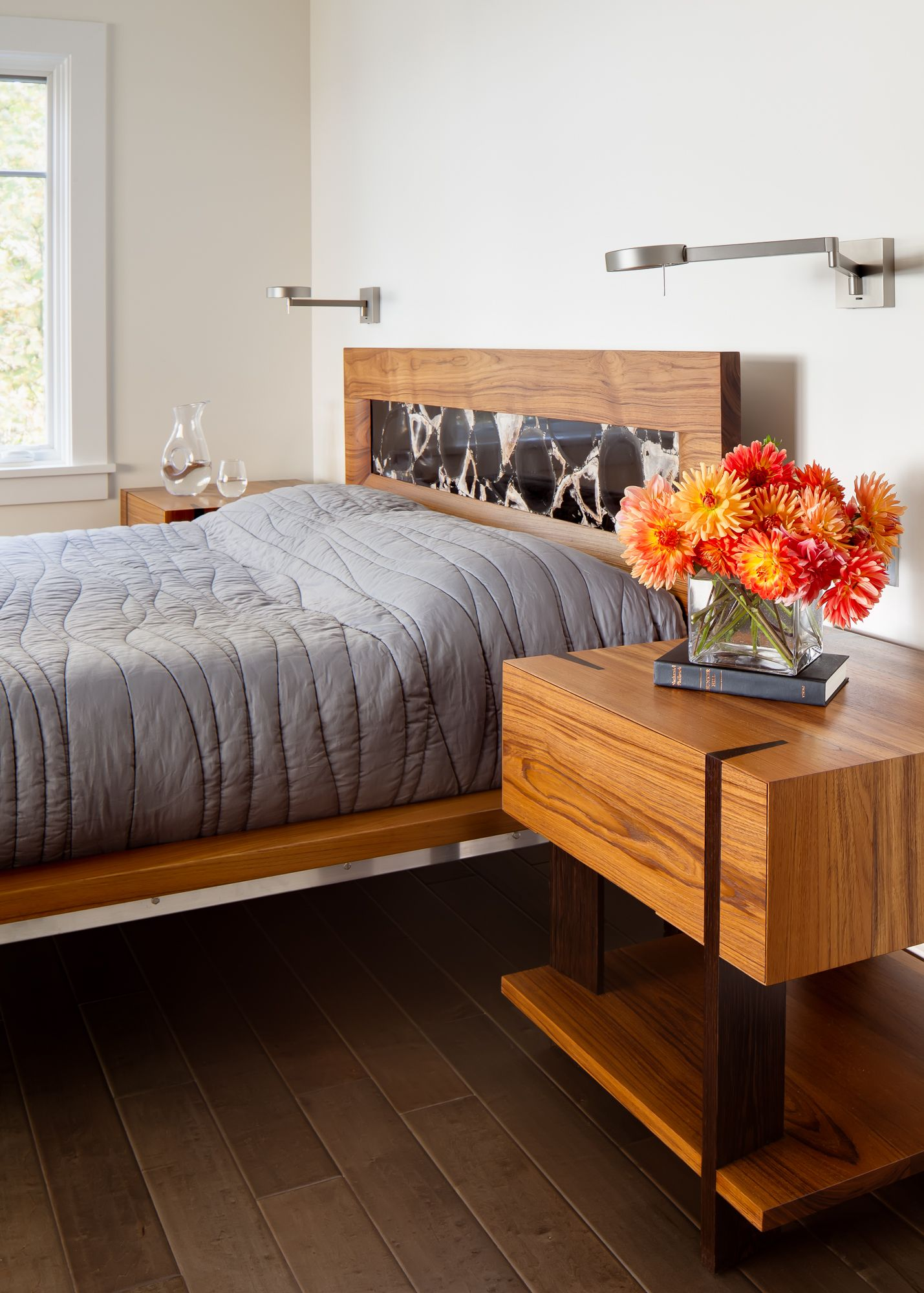 Allagash Constructed from solid Teak and Wenge. This