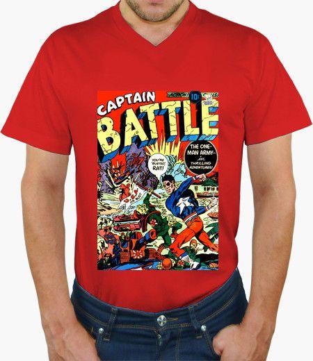 Camiseta The One Army Man Camiseta hombre, cuello pico cerrado 19,90 € - ¡Envío gratis a partir de 3 artículos!