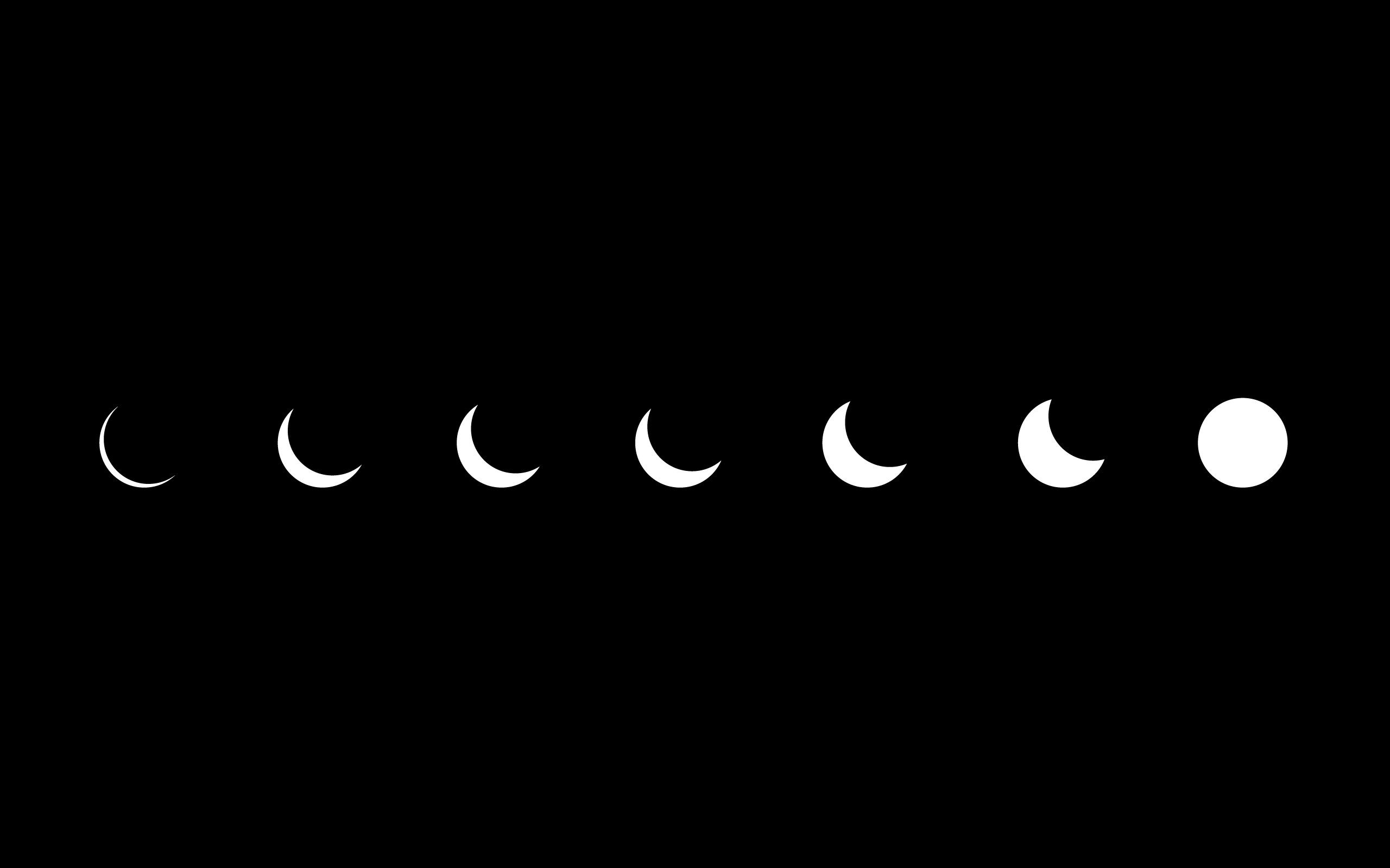 high resolution minimalistic eclipse artwork simple hd wallpaper