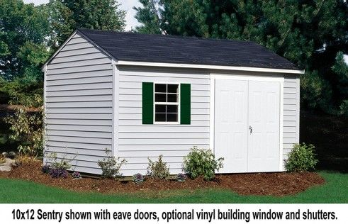 Sentry Traditional Sheds Vinyl Siding Barn Style Shed